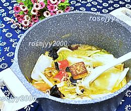 海鲜白菜煲的做法