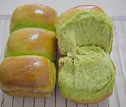 超柔软抹茶蜂蜜吐司面包的做法