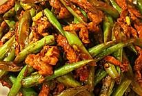 四季豆炒肉丝的做法