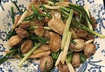 姜葱小鲍鱼的做法