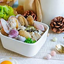 蛤蜊海鲜汤面~宝宝辅食