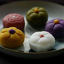 彩色冰皮月饼——和菓子的感觉