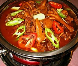 家庭辣子鸡火锅的做法