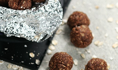 巧克力燕麦能量球的做法