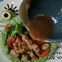 #安佳儿童创意料理# 青蛙儿童餐,孩子把碗吃下去【图文视频】的做法图解6