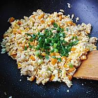 奶香南瓜鸡肉焗饭的做法图解7