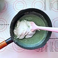 蝶豆花小熊日式棉花蛋糕卷的做法图解11