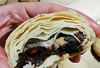奶油枣泥核桃酥皮月饼的做法