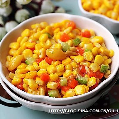 白果松仁玉米