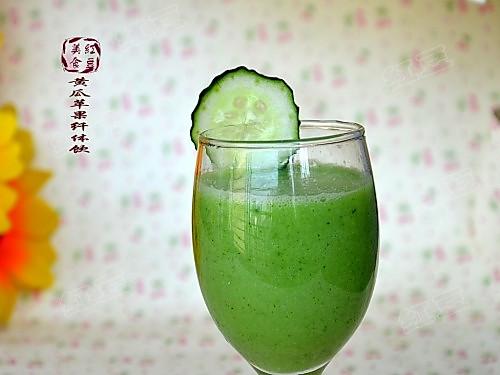 黄瓜苹果纤体饮的做法