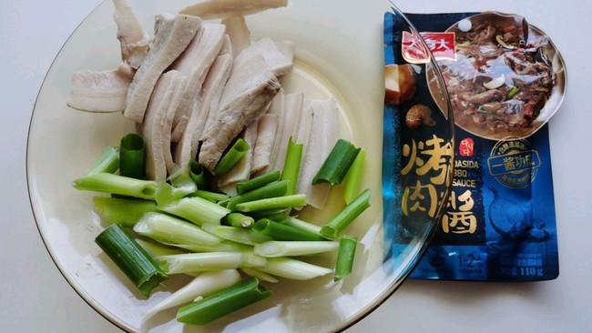 #烤究美味 灵魂就酱#酱香回锅肉,不要太好吃的做法