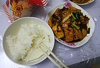 小葱烧豆腐的做法