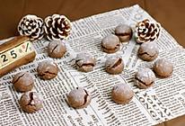 布朗尼裂纹曲奇饼干#餐桌上的春日限定#的做法
