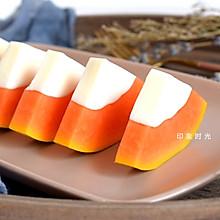 要想皮肤好,木瓜椰奶冻少不了#百变水果花样吃#
