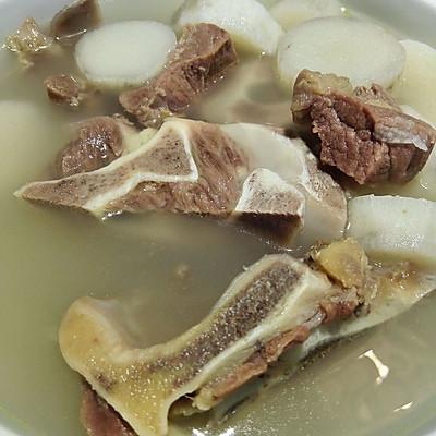 清炖山药牛骨汤