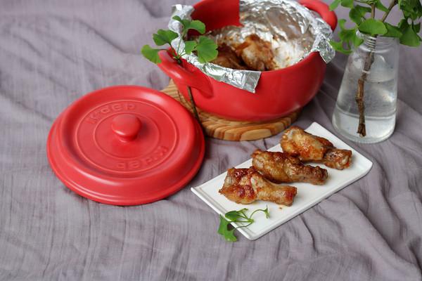 新奥尔良烤鸡根翅(砂锅版)的做法