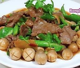 粤菜:草菇鲍鱼汁炒牛肉的做法