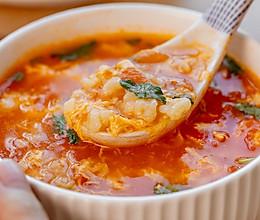 番茄疙瘩汤|酸甜开胃的做法