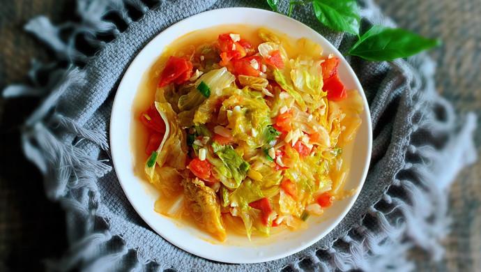 番茄球生菜