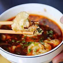 酸汤北极虾水饺