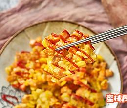 红薯玉米烙的做法
