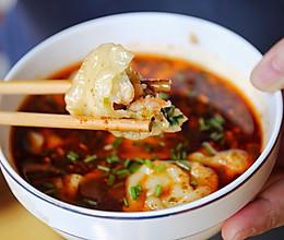 酸汤北极虾水饺的做法