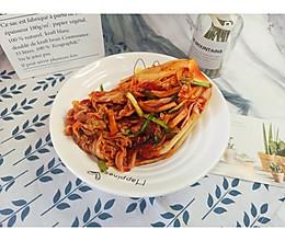 超级好吃的自制韩国辣白菜的做法