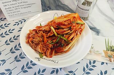 超级好吃的自制韩国辣白菜