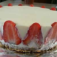 冻芝士草莓慕斯蛋糕的做法图解9