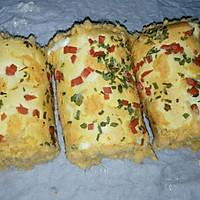 香葱肉松蛋糕卷#丘比轻食厨艺大赛#的做法图解25