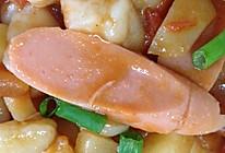 土豆番茄炒面疙瘩的做法