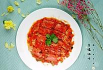 #我们约饭吧#番茄金针菇培根卷的做法