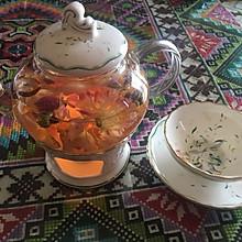 金边玫瑰养生茶