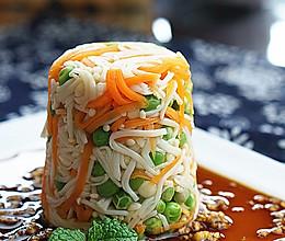 凉拌青豆金针菇#夏日时光#的做法