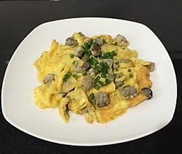 牡蛎炒蛋的做法