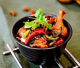 湘菜-干豆角炒鸭(辣到过瘾版)的做法