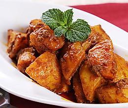 风味咖喱土豆,汁浓酥软特下饭的做法