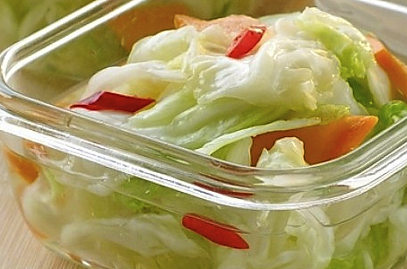清淡泡菜的做法
