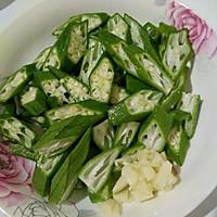 秋葵炒肉片#太太乐鲜鸡汁中式#的做法图解3
