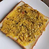 #夏日撩人滋味#三分鐘快手早餐 開放式三明治的做法圖解4