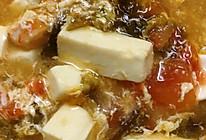 鲜嫩豆腐番茄汤-快手菜的做法