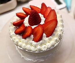 自制草莓蛋糕的做法