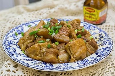 豆泡红烧肉(超简单家常菜)