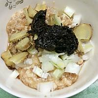 榄菜肉末蒸豆腐的做法图解4