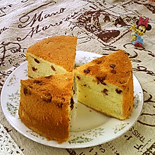 #硬核菜谱制作人##金龙鱼烘焙赛阿狗战队#酸奶蔓越莓戚风蛋糕
