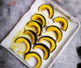 #栗香好粉糯 营养有食力#可盐可甜的奶香黄油烤南瓜的做法