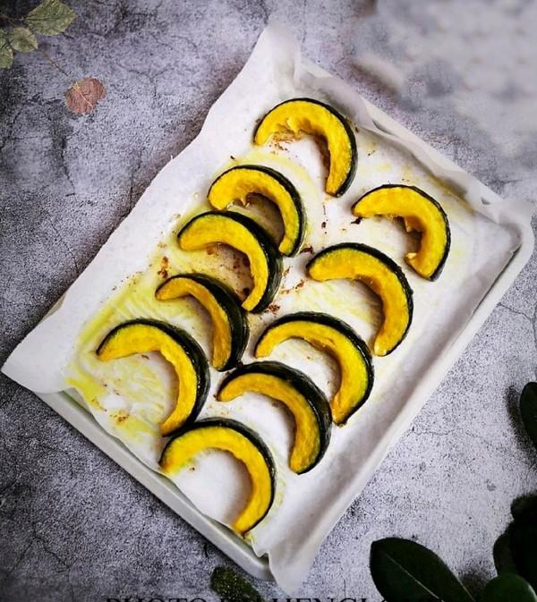 可盐可甜的奶香黄油烤南瓜的做法