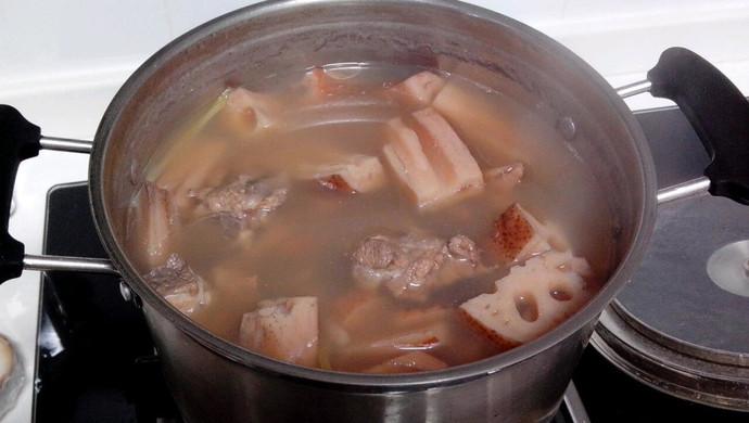 莲藕小排汤