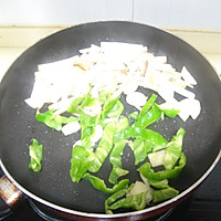 干煸五花肉杏鲍菇的做法图解7