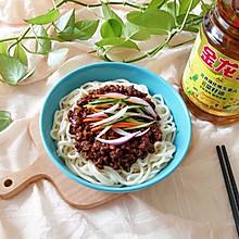 豆干炸酱面#金龙鱼营养强化维生素A  新派菜油#